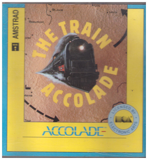 The Train for Amstrad CPC from Accolade on Disk