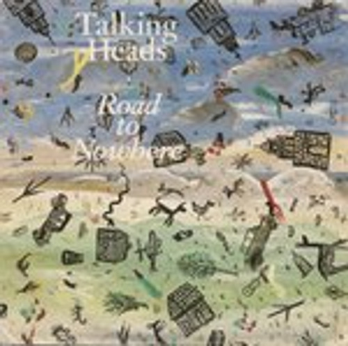 """7"""" 45RPM Road To Nowhere/Television Man by Talking Heads from EMI"""
