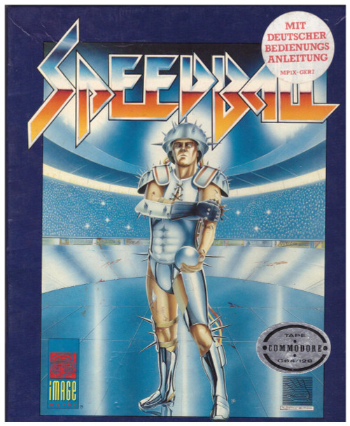 Speedball for Commodore 64 from Image Works