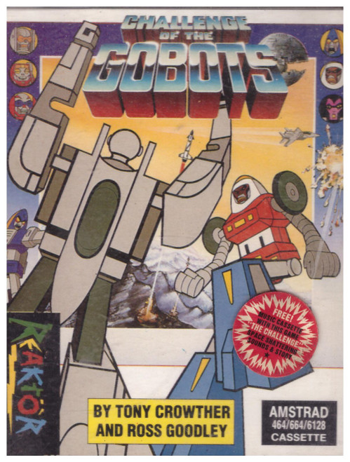 Challenge Of The Gobots for Amstrad CPC from Reaktor (AS 54718)