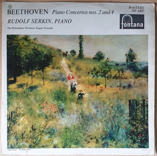 Beethoven Piano Concertos Nos. 2 And 4 from Fontana (EFL 2506)