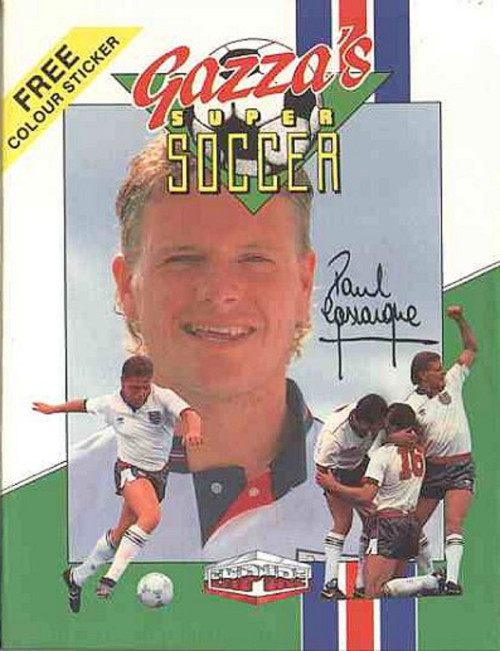 Gazza's Super Soccer for ZX Spectrum from Empire