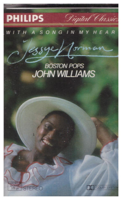 With A Song In My Heart by Jessye Norman/Boston Pops/John Williams from Philips on Cassette (412 625-4)