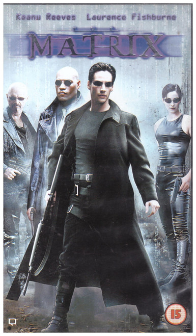 The Matrix VHS from Warner Home Video (S016985)