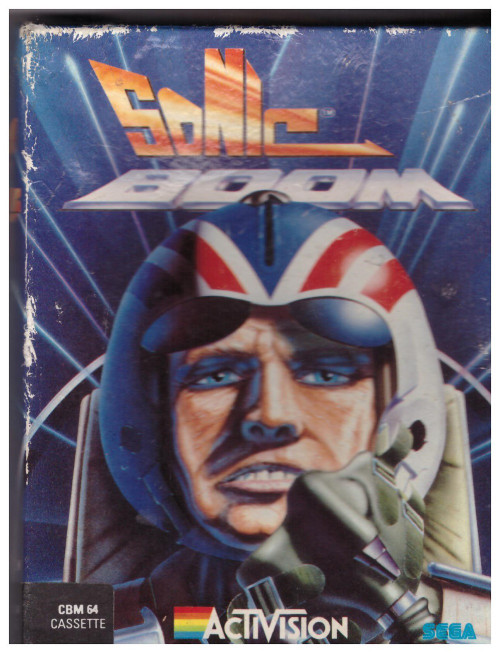 Sonic Boom for Commodore 64 from Activision