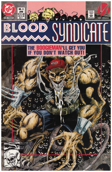 Blood Syndicate #3 Jun 93 from DC Comics