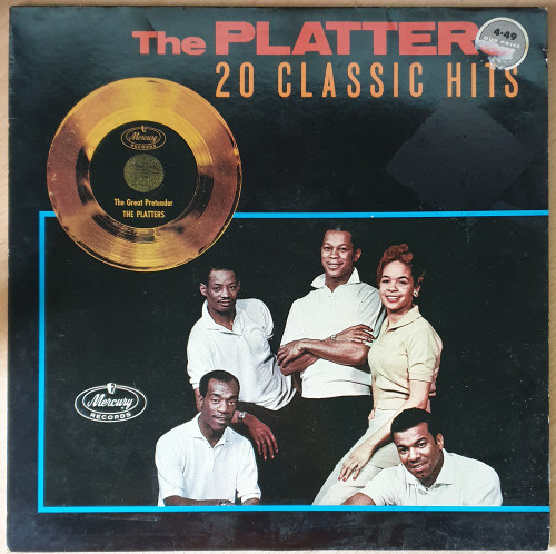 20 Classic Hits by The Platters from Mercury (PRICE 56)