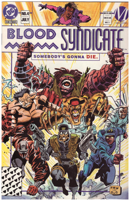 Blood Syndicate #4 Jul 93 from DC Comics