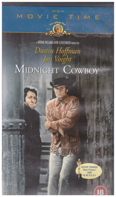 Midnight Cowboy VHS from MGM Home Entertainment (15858S)