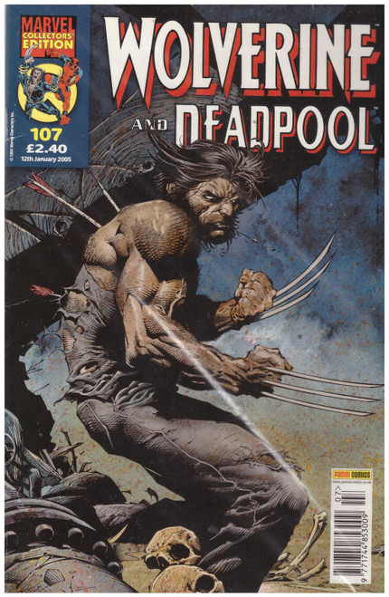 Wolverine And Deadpool #107 Jan 05 from Marvel/Panini Comics UK