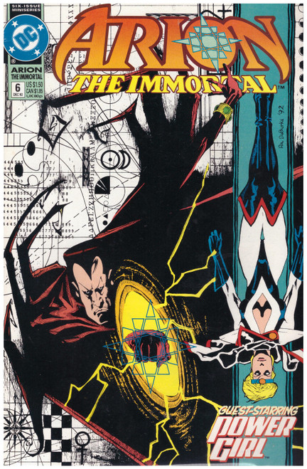 Arion The Immortal #6 Dec 92 from DC Comics