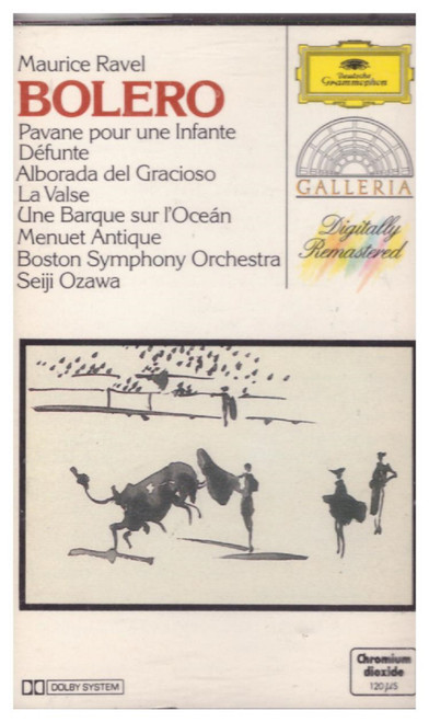 Ravel: Bolero & Other Orchestral Works from Deutsche Grammophon on Cassette (415 845-4)