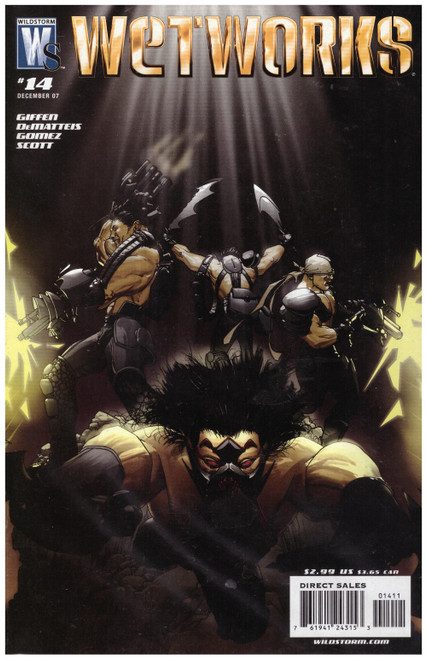 Wetworks #14 Vol 2 Dec 07 from Wildstorm Comics