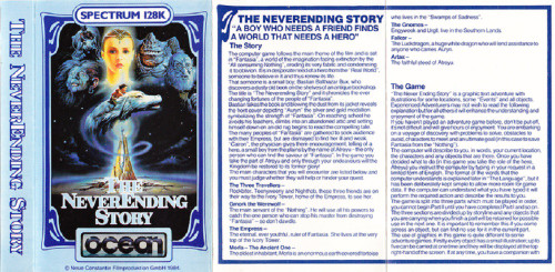 The NeverEnding Story 128 for ZX Spectrum from Ocean