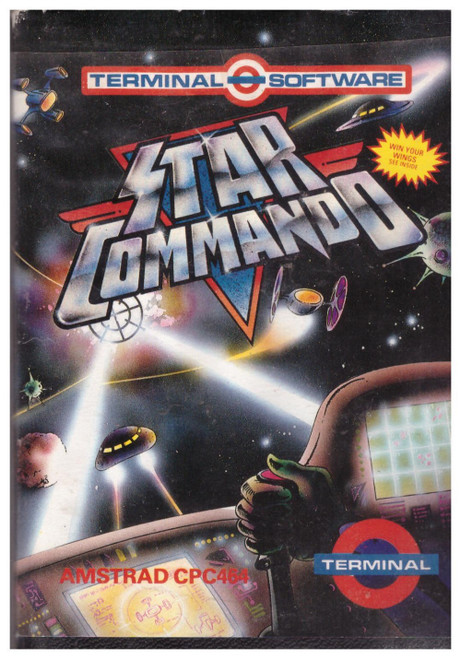 Star Commando for Amstrad CPC by Terminal Software