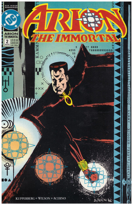 Arion The Immortal #2 Aug 92 from DC Comics