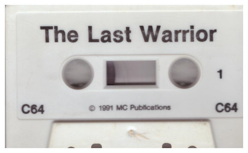 The Last Warrior for Commodore 64 from MC Publications