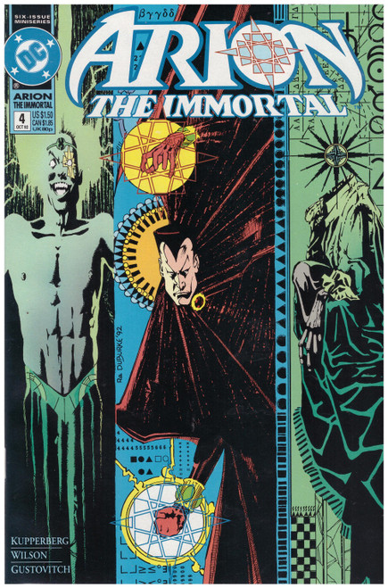 Arion The Immortal #4 Oct 92 from DC Comics