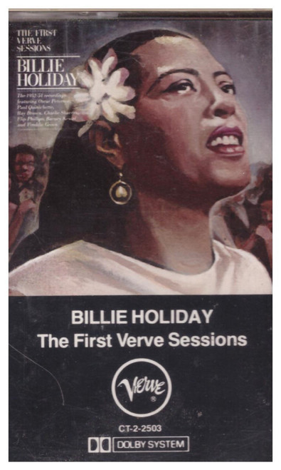 The First Verve Sessions by Billie Holiday from Verve Records (CT-2-2503)