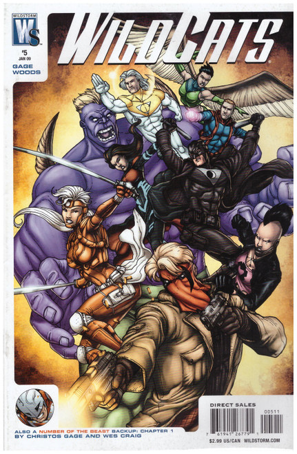 WildCats #5 Vol 5 Jan 09 from Wildstorm Comics
