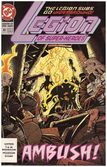 Legion Of Super-Heroes #30 Jun 92 from DC Comics