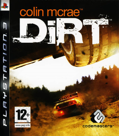 Colin Mcrae Dirt for Sony Playstation 3/PS3 from Codemasters (BLES 00095)