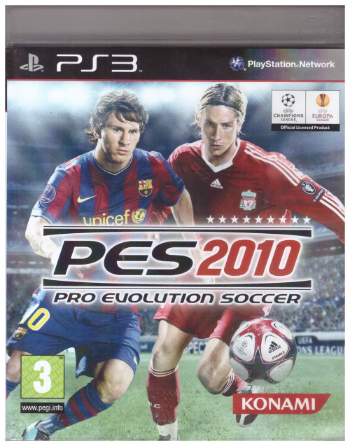 Pro Evolution Soccer 2010 for Sony PlayStation 3/PS3 from Konami (BLES 00688)