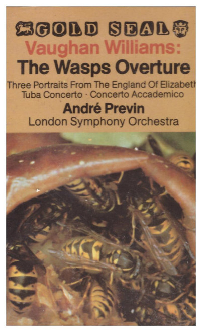 Vaughan Williams: The Wasps Overture from RCA on Cassette (GK 42953)