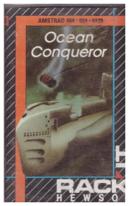 Ocean Conqueror for Amstrad CPC from Rack It Hewson