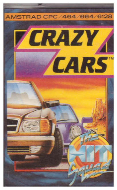 Crazy Cars for Amstrad CPC from The Hit Squad