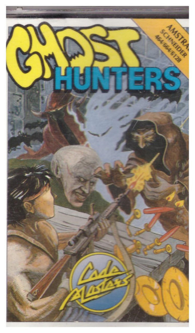 Ghost Hunters for Amstrad CPC from Codemasters (3027)