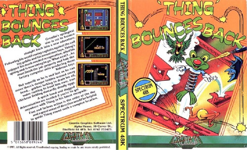 Thing Bounces Back for ZX Spectrum from Gremlin