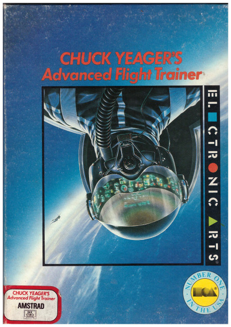 Chuck Yeager's Advanced Flight Trainer for Amstrad CPC from Electronic Arts