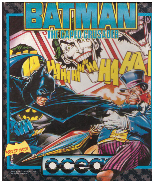 Batman The Caped Crusader for Amstrad CPC from Ocean