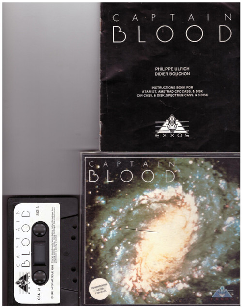 Captain Blood for Commodore 64 from Exxos
