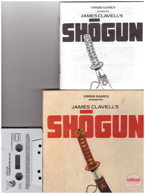 Shogun for Commodore 64 from Virgin Games on Tape