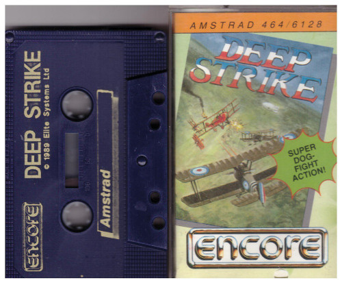 Deep Strike for Amstrad CPC from Encore