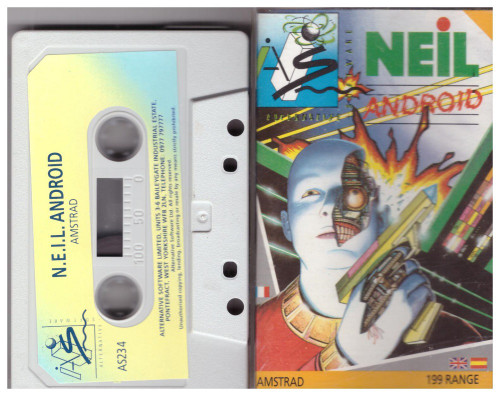 NEIL Android for Amstrad CPC from Alternative Software (AS235)