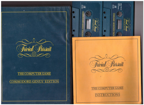 Trivial Pursuit for Commodore 64 from Domark
