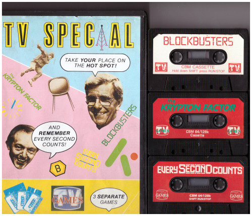 TV Special for Commodore 64 from TV Games