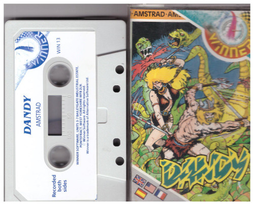 Dandy for Amstrad CPC from Winner (WIN 13)