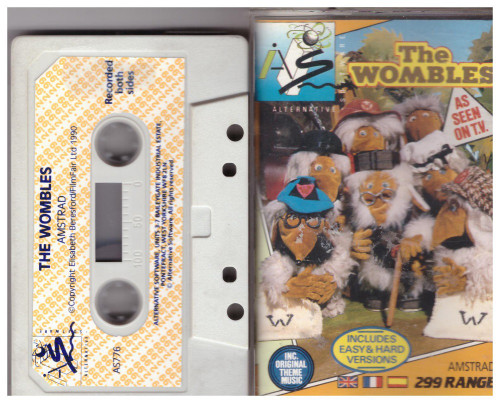 The Wombles for Amstrad CPC from Alternative Software (AS 776)