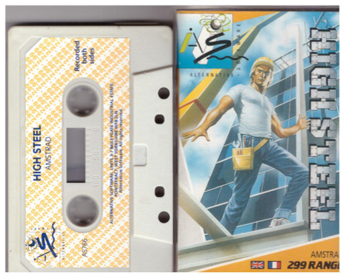 High Steel for Amstrad CPC from Alternative Software (AS 766)
