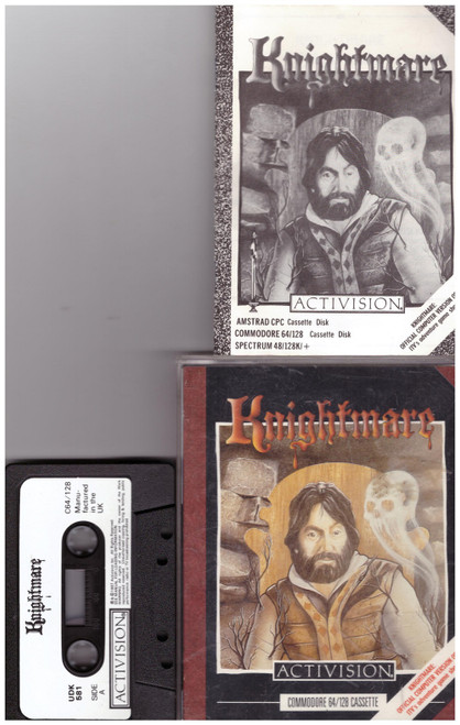 Knightmare for Commodore 64 from Activision