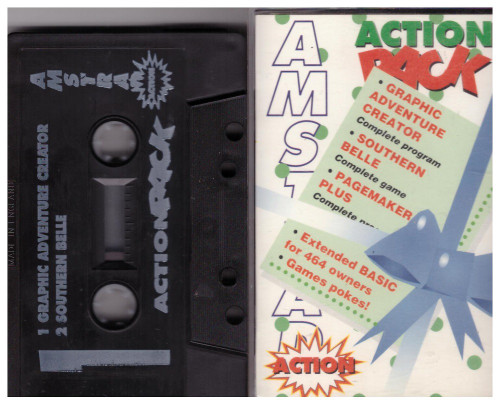 Amstrad Action 10 Jan 92 Covertape for Amstrad CPC