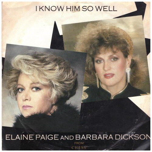 """7"""" 45RPM I Know Him So Well/Chess by Elaine Paige And Barbara Dickson from RCA (CHESS 3)"""