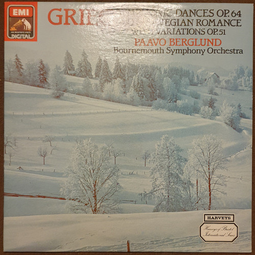 Grieg: Symphonic Dances Op. 64/Old Norwegian Romance With Variations Op. 51 from His Master's Voice (ASD 4170)