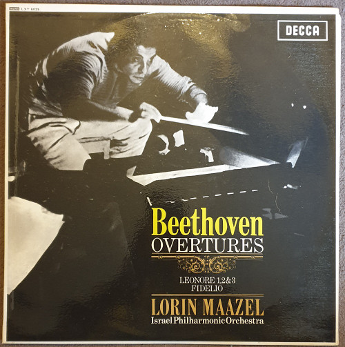 Beethoven: Overtures from Decca (LXT 6025)