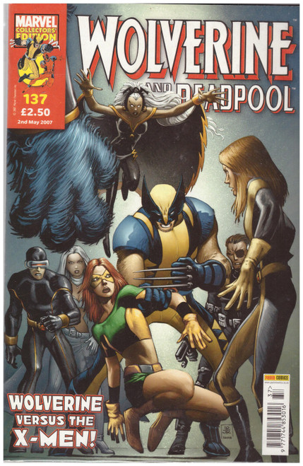 Wolverine And Deadpool #137 May 07 from Marvel/Panini Comics UK