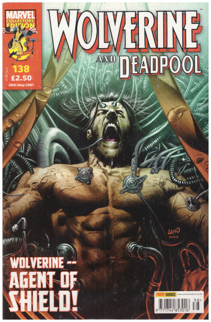 Wolverine And Deadpool #138 May 07 from Marvel/Panini Comics UK